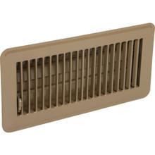 """4x10"""" Brown Floor Register"""