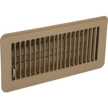"""4x12"""" Brown Floor Register"""
