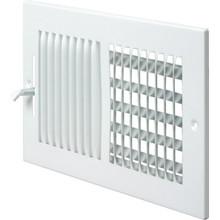 "8x6"" Two-Way Sidewall Register"