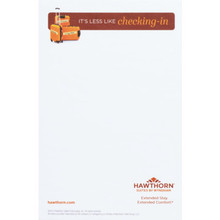 "Hawthorn Suites 5-1/2 x 8-1/2"" 10 Sheet Meeting Room Pad, Case of 250"