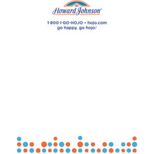 "Howard Johnson 4-1/4 x 5-1/2"" 16 Sheet Notepad, Case of 500"