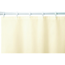 "Hooked Nylon Shower Curtain 72 x 72"" Beige Case Of 12"