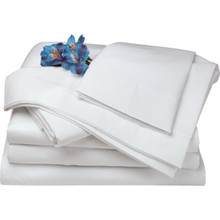 "Muslin T130 Pillowcase Standard 42x34"" White Package Of 12"