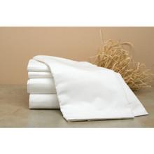 "Patrician Dobby Strip T250 Pillowcase Standard 42x36"" White Case Of 72"