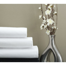 "Cotton Bay Canterfield T250 Fitted Sheet Full XL 54x80x12"" White Case Of 24"