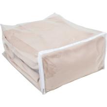 """Vinyl Zipper Blanket Storage Bag 18Lx15Wx8"""""""