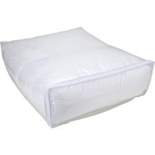 "Vinyl Zipper Pillow Storage Bag 27L x 22W x 12"""