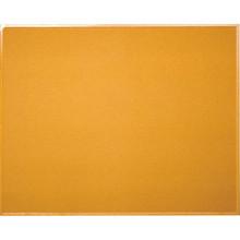 "Hardwood Frame Corkboard 36H x 46-1/2W x 1/2""D"
