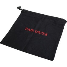 Hair Dryer Bag Drawstring 12 x 12""