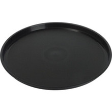 "12"" Round Tray Black Package Of 12"