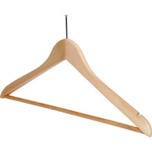 "18 x 1/2"" Ball Top Male Hanger Natural Wood Package Of 100"