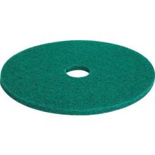 "20"" Green Scrubbing Floor Pad Box Of 5"