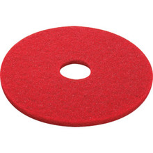 "20"" Red Buffering Floor Pad Box Of 5"