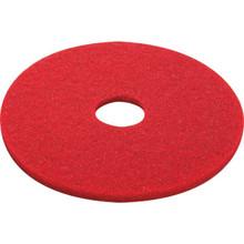 "20"" Red Buffering Floor Pad Box Of 5"