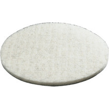 "20"" White Buffering Floor Pad Box Of 5"