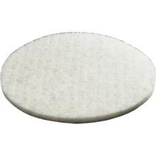 "20"" White Buffering Floor Pad Box Of 5"