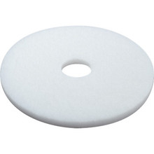 "20"" White Polishing Floor Pad Box Of 5"