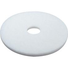 """20"""" White Polishing Floor Pad Box Of 5"""
