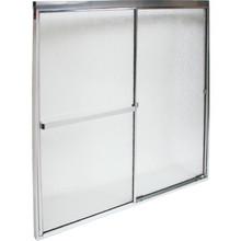 "MAAX By-Pass Shower Door Rain Textured Glass Deluxe 68H x 44-1/2 To 46-1/2""W"