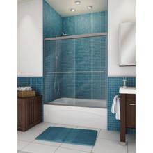 """MAAX Frameless By-Pass Shower Door Clear Glass W/ Twl Bar 71H x 57 To 59-1/2""""W"""