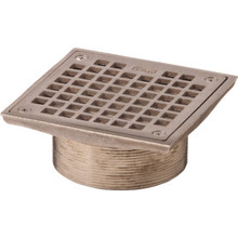 Commercial Floor Drain Assembly Square 5""