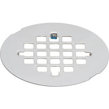 "Shower Floor Drain Cover Square Pattern For 3"" Pipe"