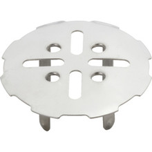 "Shower Floor Drain Cover Star Pattern For 2"" Pipe"