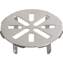 "Shower Floor Drain Cover Star Pattern For 3"" Pipe"