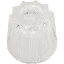 """Replacement For Pfister Hot/Cold Faucet Handle Clear 1-3/4"""" Height"""