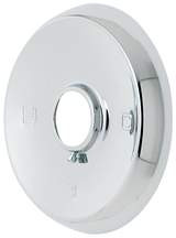 "Mixet 5-1/2"" Chrome Round Shower Escutcheon"