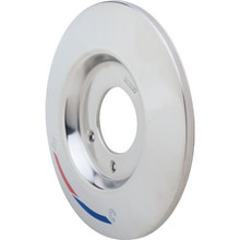 "Mixet 7-3/8"" Chrome Round Shower Escutcheon"