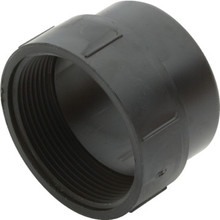 ABS DWV Schedule 40 Fitting Cleanout Adapter 1-1/2""