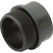 ABS DWV Schedule 40 Male Fitting Adapter 1-1/2""