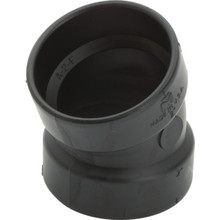 ABS DWV Schedule 40 1/16 Bend Elbow 1-1/2""