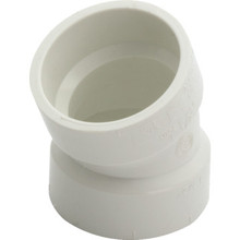 PVC DWV Schedule 40 1/16 Bend Elbow 1-1/2""