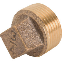 "Brass Plug 3/4"""