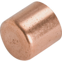 Copper Tube Cap 10/Pkg - 1/2""