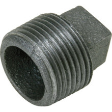 "Galvanized Malleable Plug 1/2"""