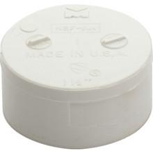 "PVC DWV Schedule 40 Cap Socket 1-1/2"""