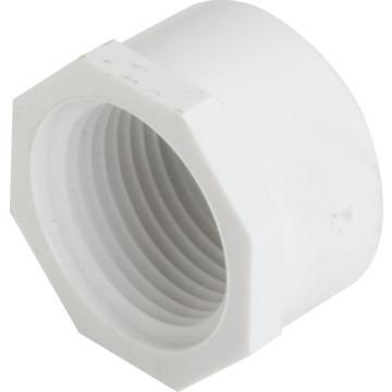 "PVC Tube Cap Schedule 40 - 3/4"" FIP"