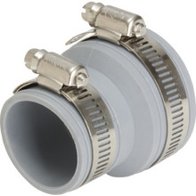 "Fernco Flexible Drain And Trap Connector 1-1/2"" x 1-1/2"" Or 1-1/4"""