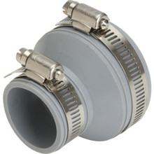 """Fernco Flexible Drain And Trap Connector 2"""" x 1-1/2"""" Or 1-1/4"""""""