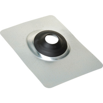 """Roof Flashing 2"""" Aluminum With EPDM Rubber Collar"""