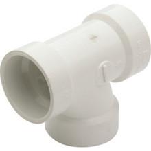 """PVC DWV Schedule 40 Sanitary Tee 1-1/2"""""""