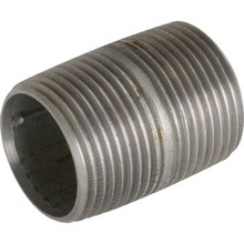"3/8"" X Close Galvanized Nipple"