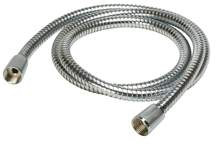 "72"" Interlock Brass Hose Chrome"