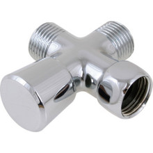 Chrome Plated Brass Diverter Valve 1/2""