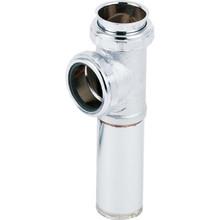 "Brass Tubular Coupling Disposer Tee End Outlet 1-1/2"" Direct Or SJ 20-Gauge"