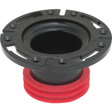 "Toilet Bowl Flange 4"" ABS"