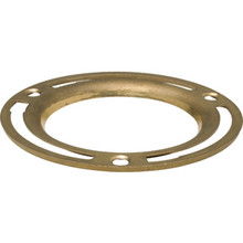 "Toilet Bowl Flange 4"" Brass"